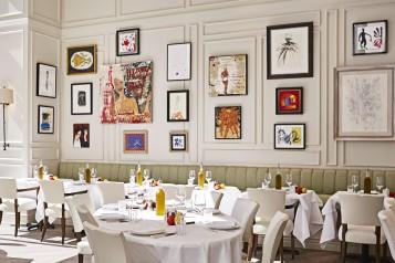La Petite Maison Dining Room by Michael Pisarri 2