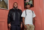 David Grutman and Pharrell Williams