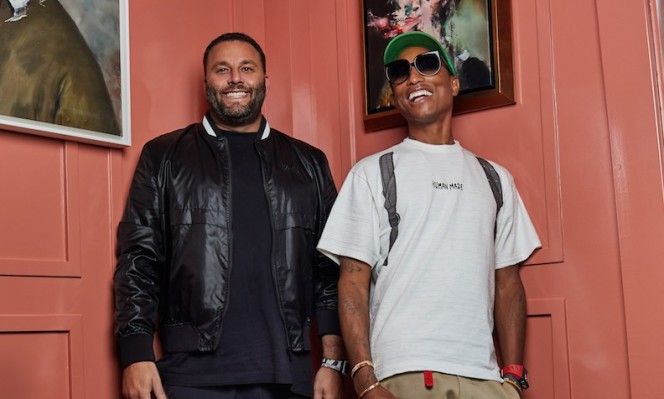 David Grutman and Pharrell Williams