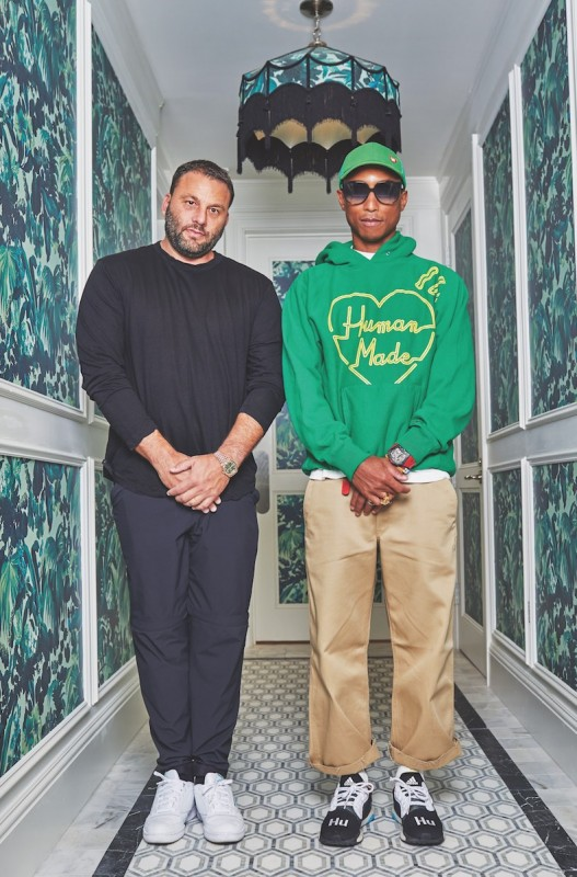 David Grutman + Pharrell Williams