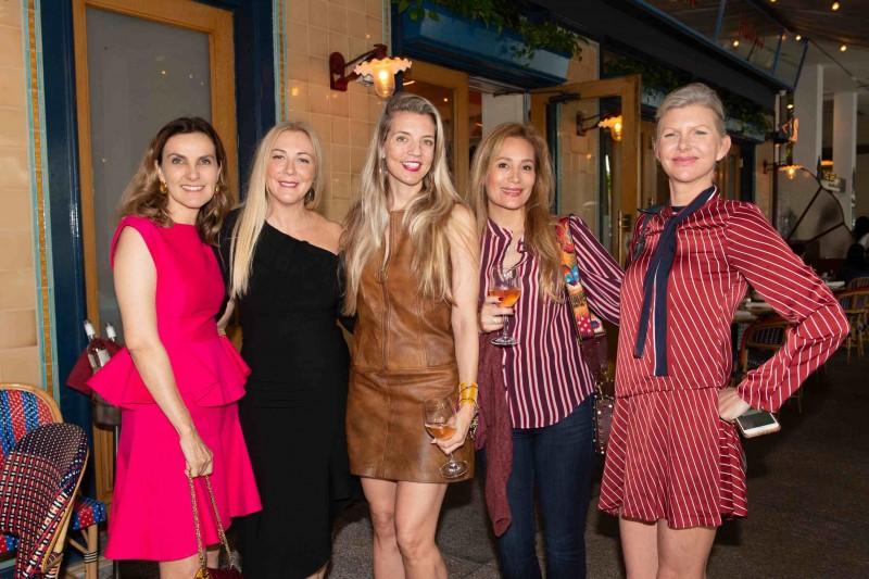 Guest, Angela Birdman, Dana Rhoden, guest and April Donelson