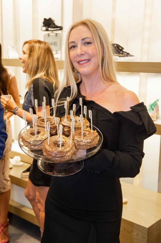 Angela Birdman with Underground Donuts