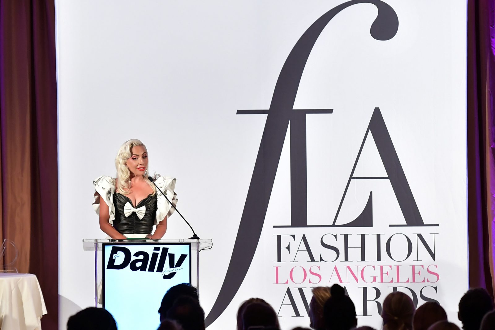 3362b088a1376 Lady Gaga. All the A-listers made it out to the Daily Front Row Fifth  Annual Fashion Los Angeles Awards ...