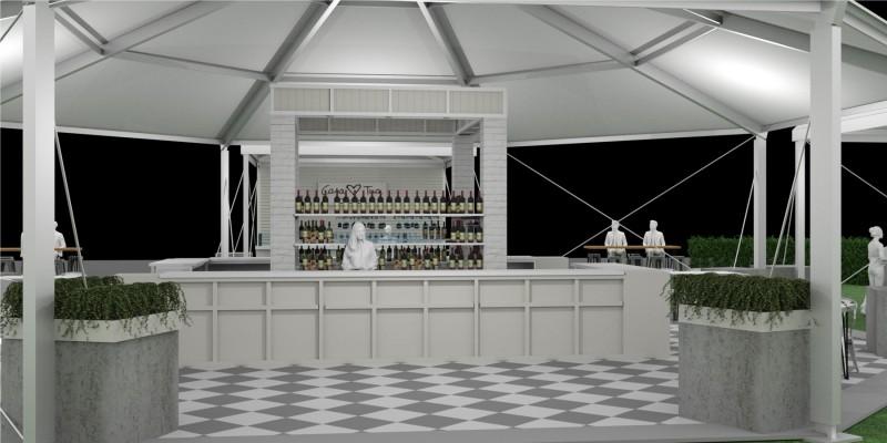 Casa Tua Main Bar & Backbar