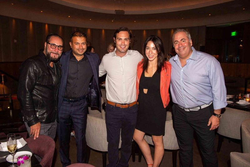 Louis Birdman, Kamal Hotchandani, Dr. Jeff Baker, Elise Baker, Joey Goldman