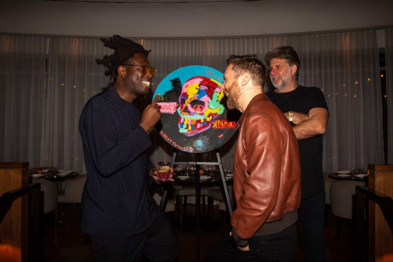 Bradley Theodore and David Guetta