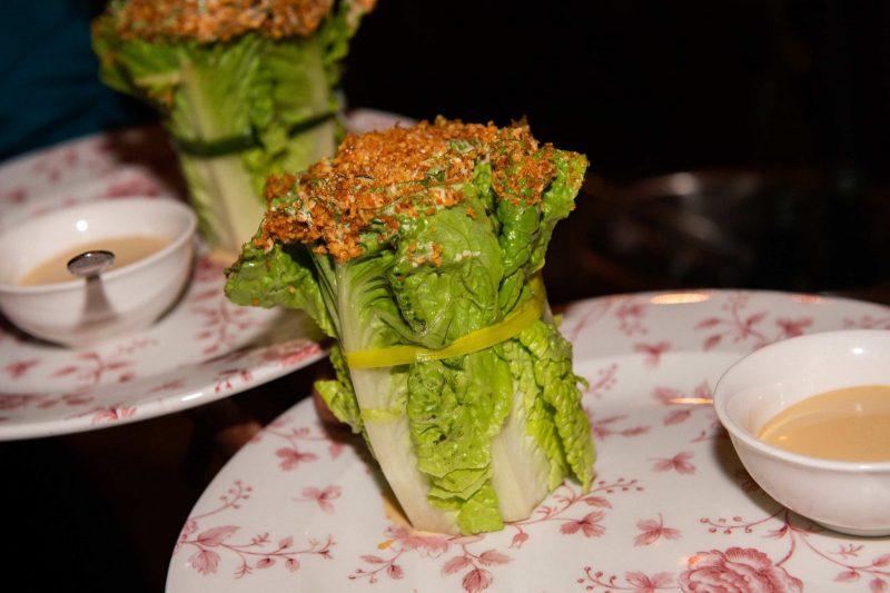 Swan Caesar Salad