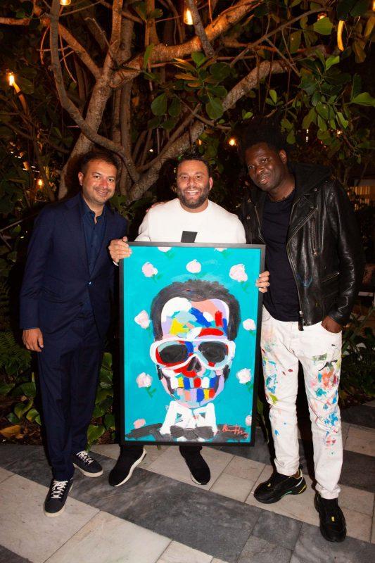Kamal Hotchandani, David Grutman and Bradley Theodore