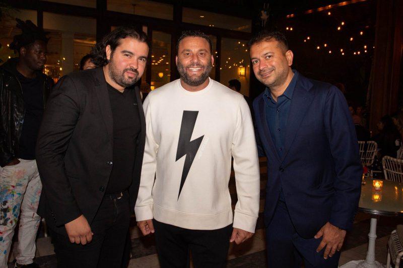 Jean Guilmoto, David Grutman and Kamal Hotchandani