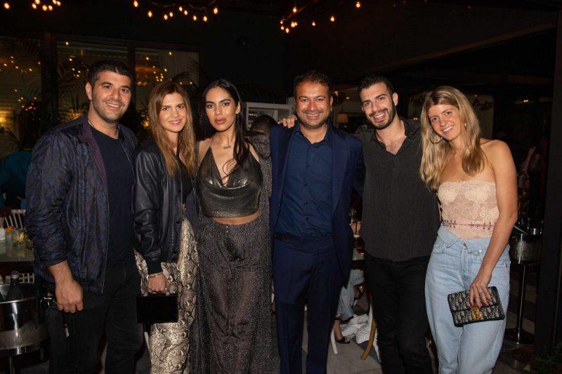 Ariel and Vivian Nakash, Deyvanshi Masrani, Kamal Hotchandani, Jack and Muriel Cayre