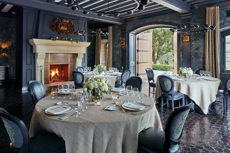 Jordan Winery Debuts Geoffrey De Sousa Designed Dining Room