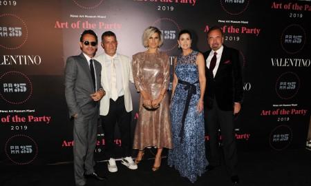 Marc Anthony, Alejandro Sanz, Raquel Perera, Darlene Perez, & Jorge Perez1