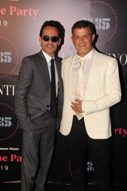 Marc Anthony & Alejandro Sanz1