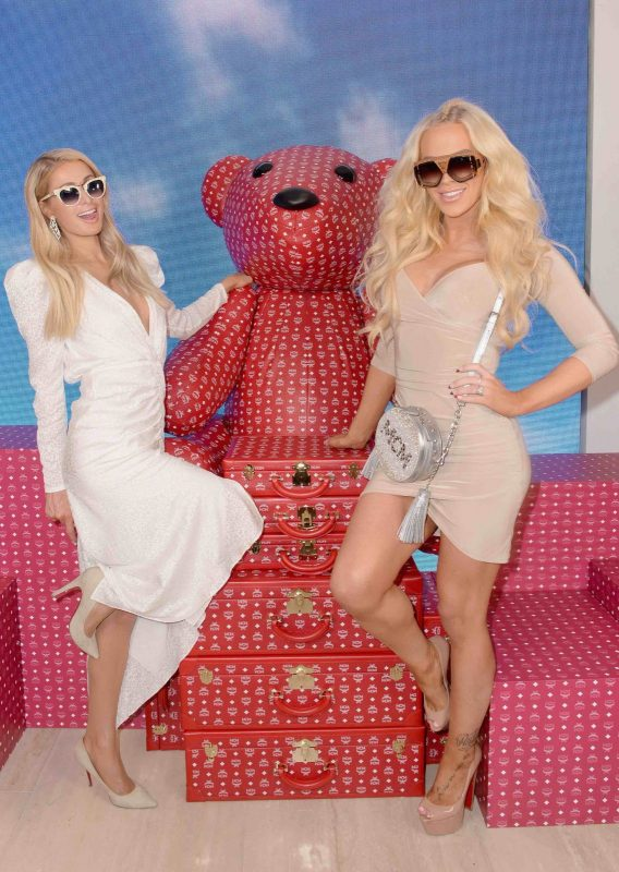 Paris Hilton and Gigi Gorgeous attend the grand opening of the MCM Global Flagship Location in Beverly Hills - Photo by Donato Sardella, Getty Images for MCM