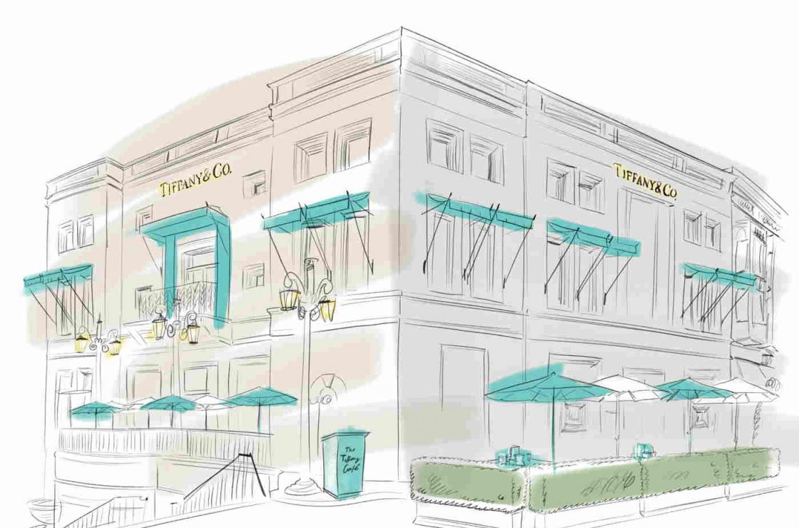 Tiffany Cafe at Beverly Hills