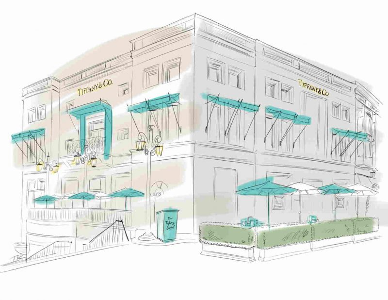 3151ce6f1 Tiffany & Co. To Open Mother's Day Pop-Up Cafe In Beverly Hills