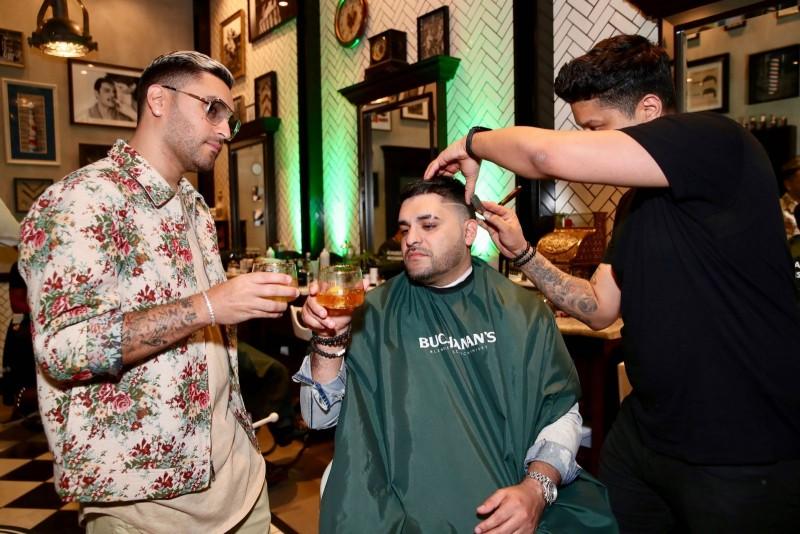 DJ Duo Play-N-Skillz Getting A Haircut at Casa Buchanan's The Barbershop in Las Vegas April_24_2019 Shot by Livegro Productions