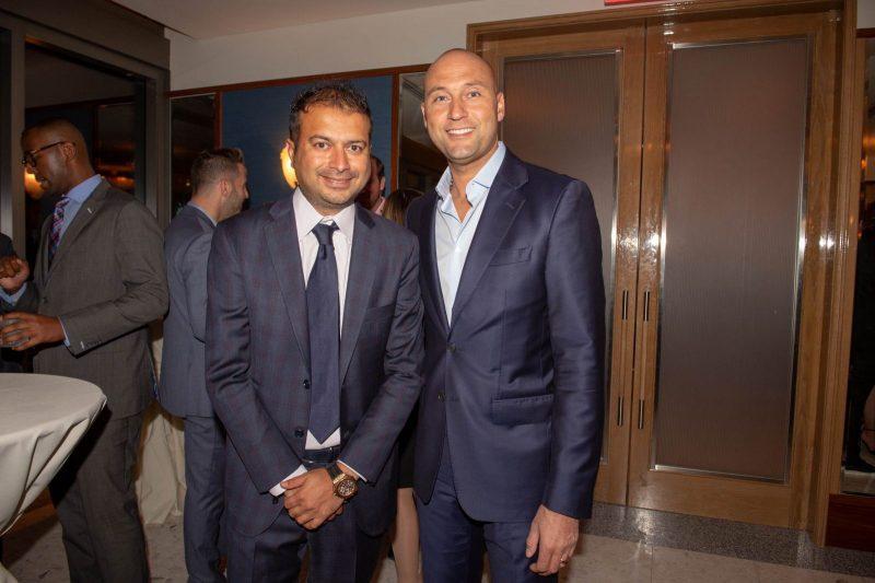 Kamal Hotchandani and Derek Jeter