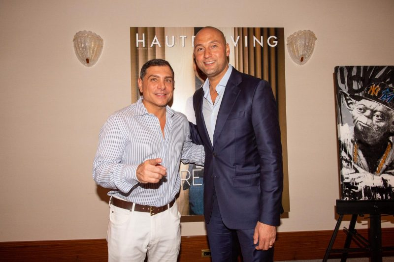 Antonio Misuraca and Derek Jeter