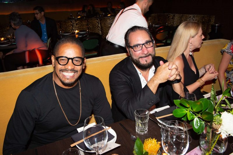 Rohan Marley and Louis Birdman