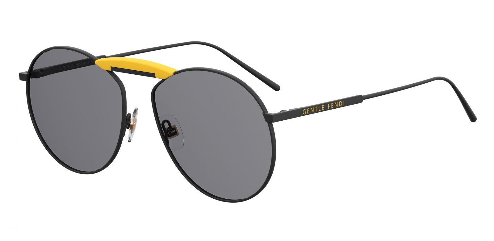 29a6b73fe1 Fendi Aviator Sunglasses Orange