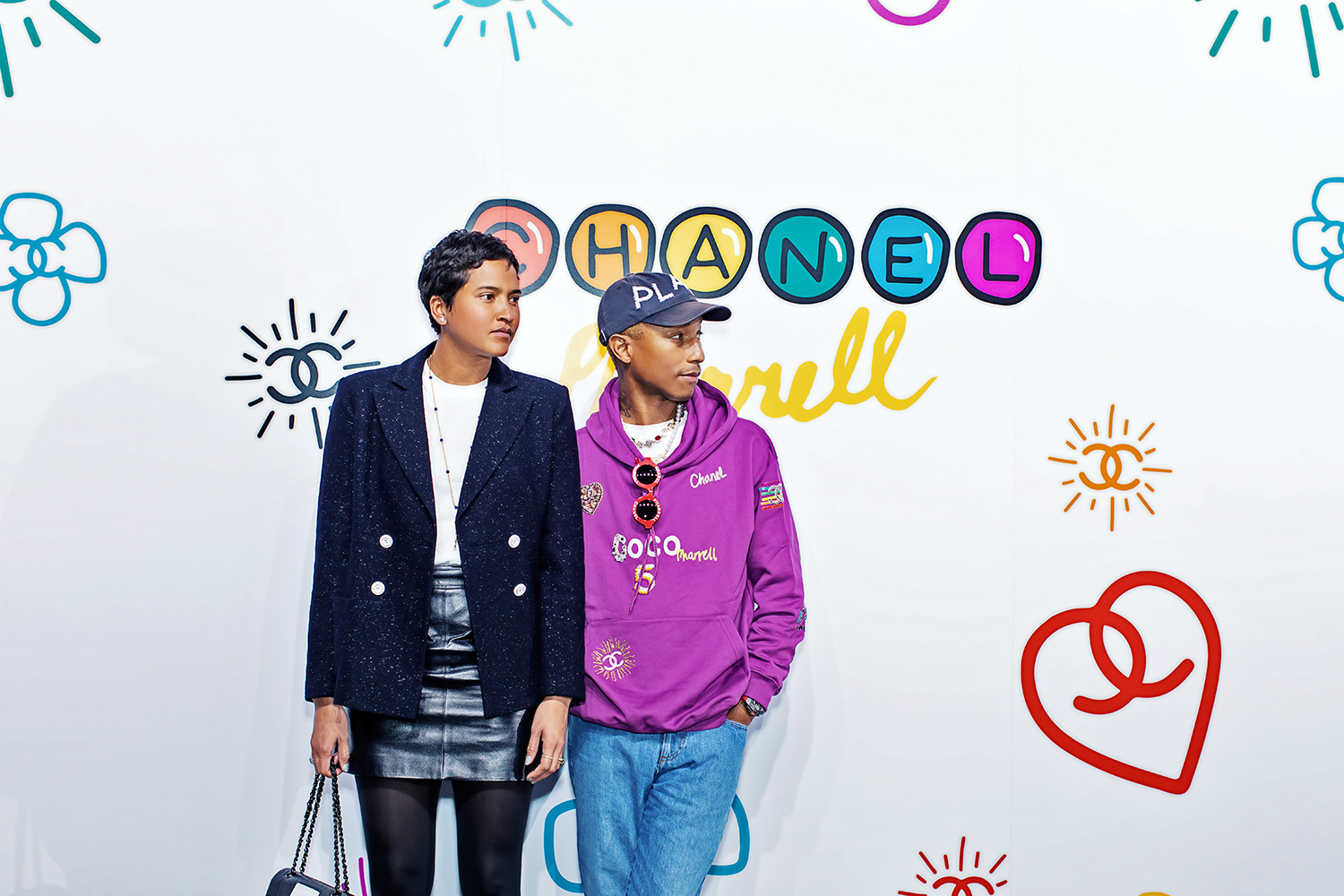 77f6b59ae Pharrell Launches Exclusive Capsule Collection With CHANEL