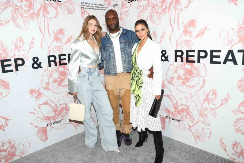 8b04acfe2315 Virgil Abloh Celebrates Off-White x Saks Collaboration