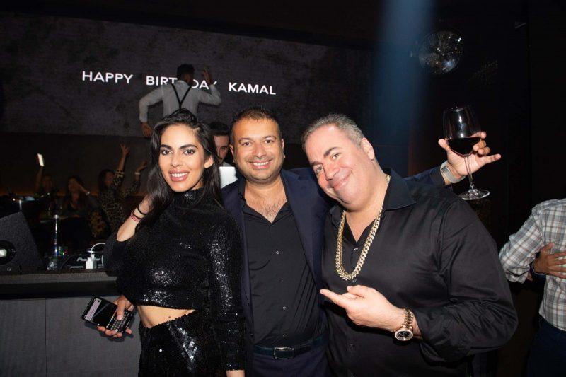 Deyvanshi Masrani, Kamal Hotchandani and Joey Goldman