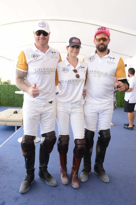 Jeremy Shockey, Ines Rivero, and Tito Gaudenzi