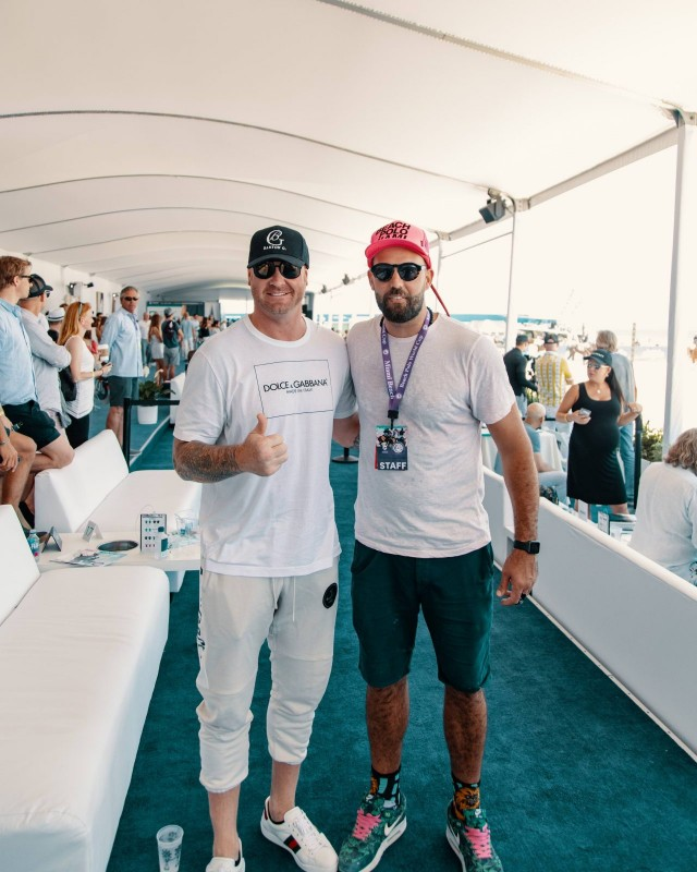Jeremy Shockey and Tito Gaudenzi Photo Credit Alchemy