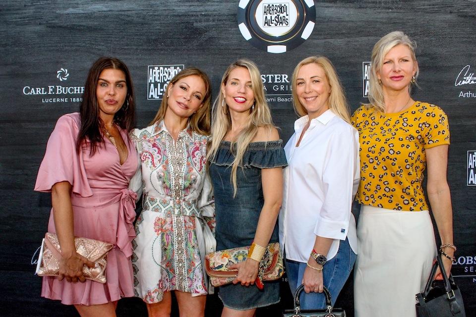 Katy Carrigan, Lily Lazaro, Dana Rhoden, Angela Birdman, April Donelson