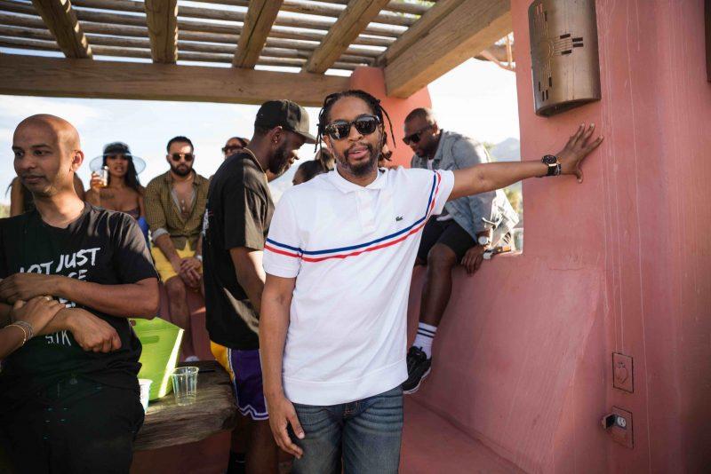Lil Jon stops by STK Steakhouse's festival party