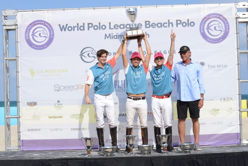 Winner US Polo ASSN Juan Bollini Jr, Carlitos Gracida, Grant Ganzi photo credit @michelangelo_photography