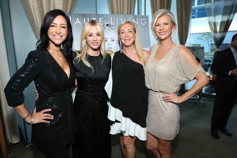 Violet Camacho, Kaley Cuoco, Angela Birdman and April Donelson