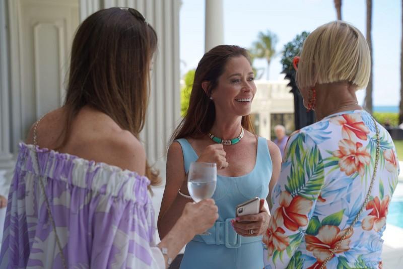 Nancy Malnik and guests