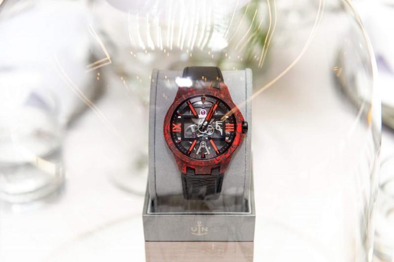 Skeleton X Magma Timepiece