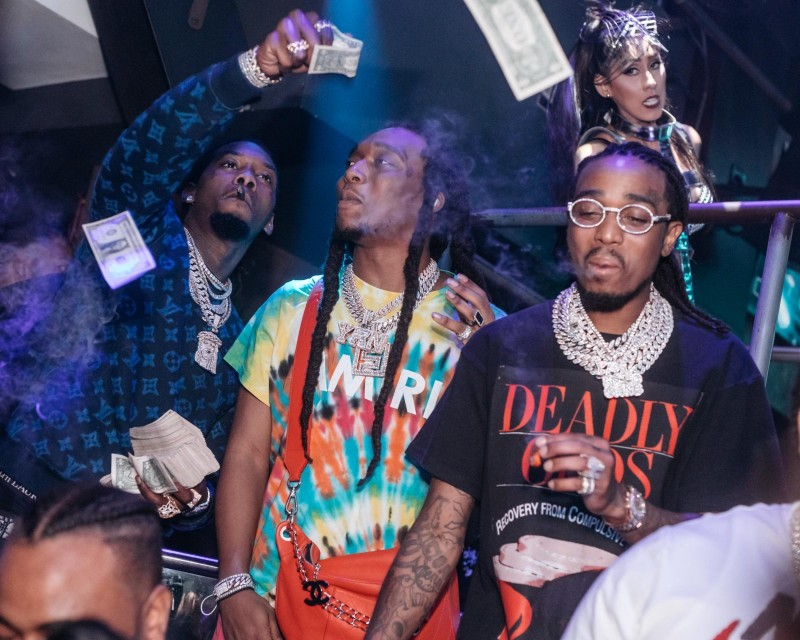 Migos at E11EVEN_Photo Credit ADINAYEV
