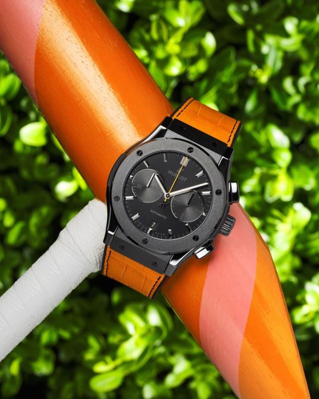 Veuve Clicquot Polo Classic chronograph