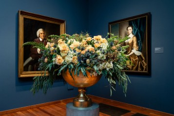 Bouquets to Art Opening Gala