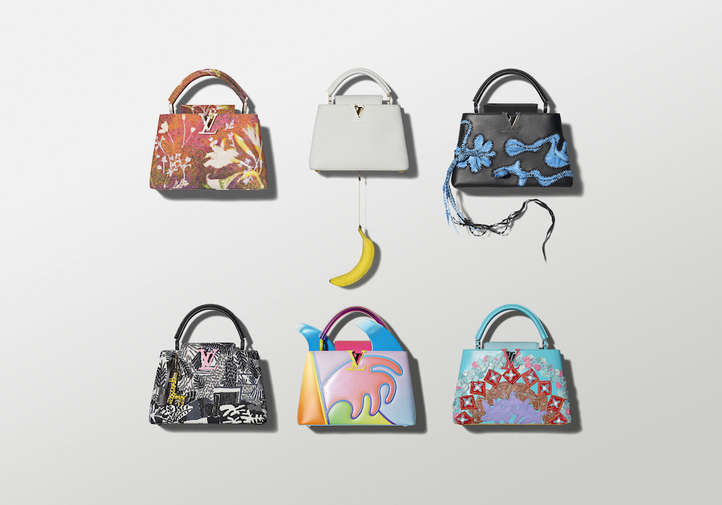 700873b51e Louis Vuitton Launches Limited Edition ArtyCapucines Collection