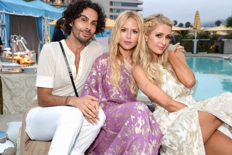 Joey Maalouf, Rachel Zoe and Paris Hilton