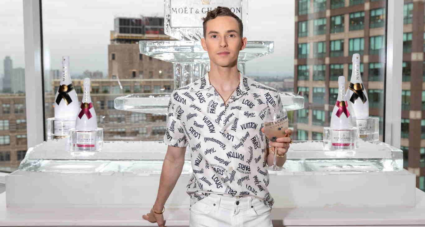 "Olympian Adam Rippon On Pride, His New Partnership + Career Plans: ""The World Is My Oyster!"""