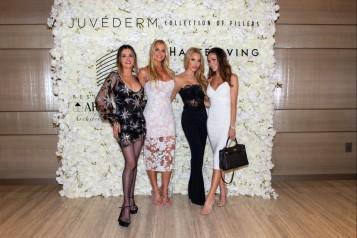 Adriana DeMoura, Alexia Echevarria, Lisa Hochstein and Farah Abassi