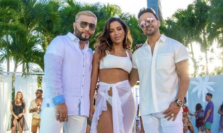 Alex Sensation, Anitta and Luis Fonsi