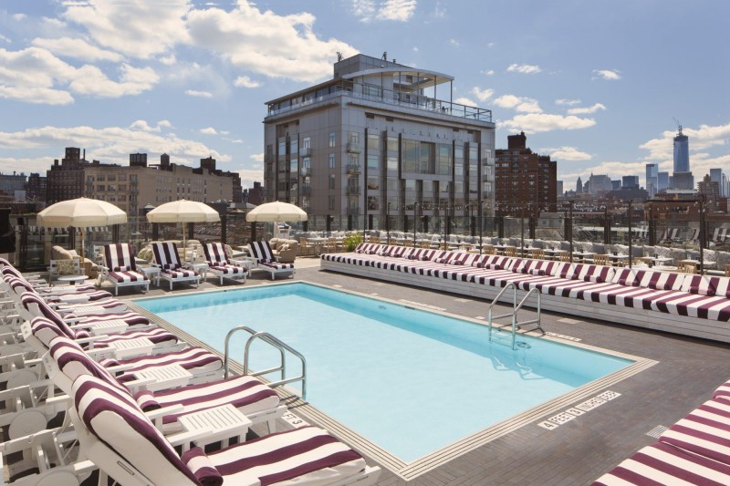 5 Hotel Rooftop Pools To Help You Cool Off This Summer In Nyc