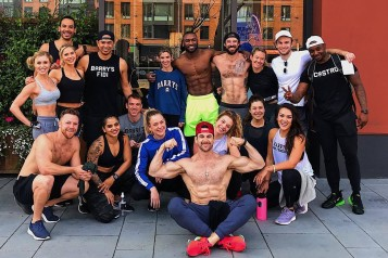 The Barry's Bootcamp Bay Area family