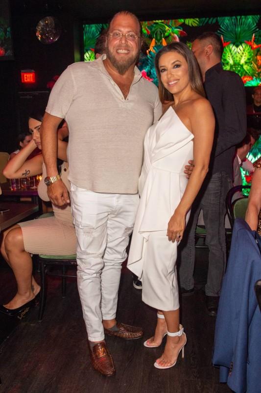 Gil Dezer and Eva Longoria