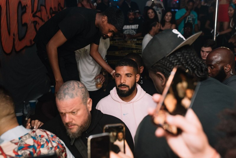 Drake at Mr., Mr. Jones