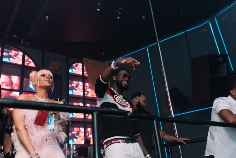 Gucci Mane & his sometime backup dancer wife, Keyshia