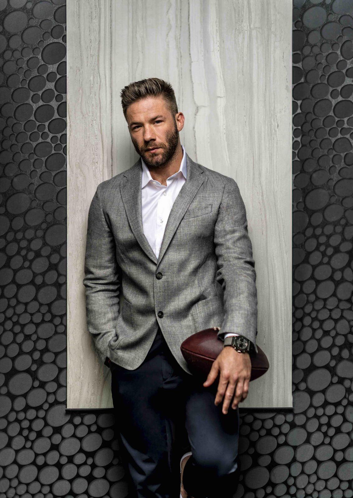 Julian Edelman Is Prepared To Dominate On The Gridiron Once